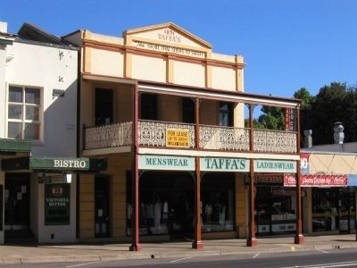 Taffa's Building, formerly Learmont's Pharmacy image. Click for full size.
