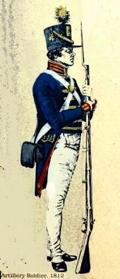 Artilleryman, 1812 image. Click for full size.
