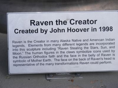 Raven the Creator Marker image. Click for full size.