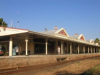 Tamworth Railway Station image. Click for full size.