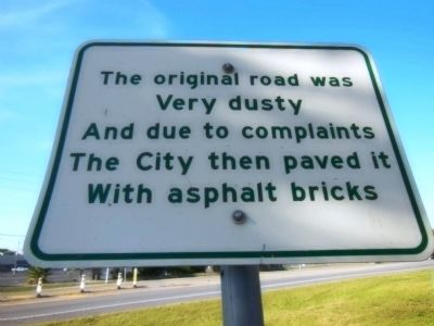 Asphalt Brick Marker image. Click for full size.