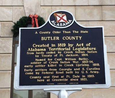 Butler County Marker image. Click for full size.