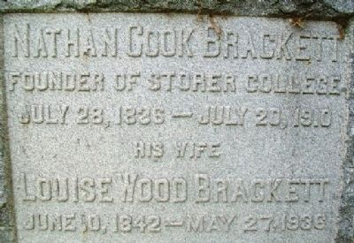 Nathan Cook Brackett Marker image. Click for full size.