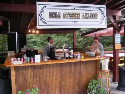 Gold Strike Saloon-Gold Creek Salmon Bake image. Click for full size.