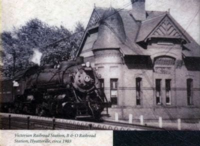Victorian Railroad Station image. Click for full size.