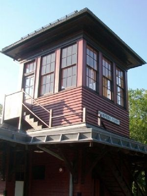 Former B&O Passenger Station Tower image. Click for full size.