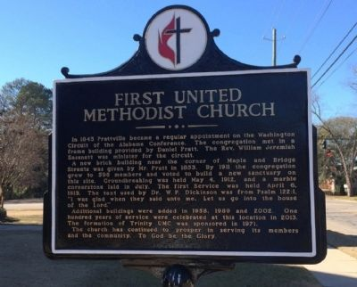 First United Methodist Church Marker image, Click for more information