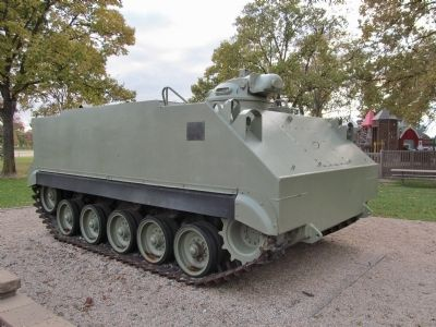 M59 Personnel Carrier image. Click for full size.