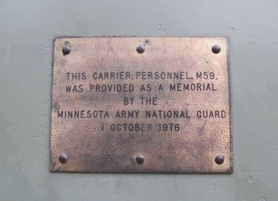 Plaque on Carrier image. Click for full size.