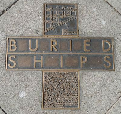 Buried Ships Marker image. Click for full size.