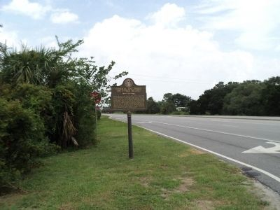 Marker on Tybee Island image. Click for full size.