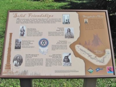 Solid Friendships Marker image. Click for full size.
