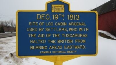 DEC. 19th, 1813 Marker image. Click for full size.
