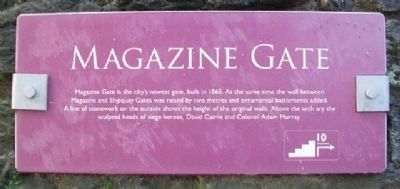Magazine Gate Marker image. Click for full size.