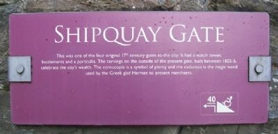 Shipquay Gate Marker image. Click for full size.