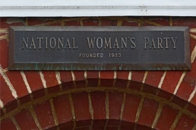 National Woman&#39;s Party<br>founded 1913 image. Click for full size.