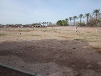 Goodyear – Ocotillo Cemetery image. Click for full size.