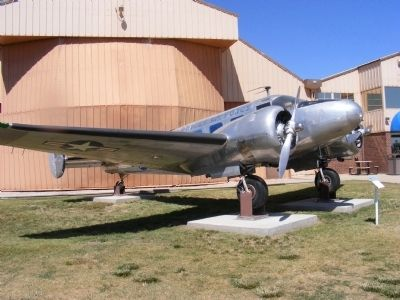 "Beech C-45 ""Expeditor"" image. Click for full size."