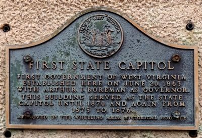 First State Capitol Marker image. Click for full size.