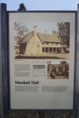 Marshall Hall Marker image. Click for full size.