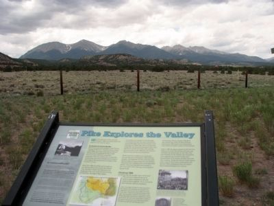 Pike Explores the Valley Marker - C image. Click for full size.