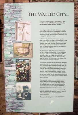 The Walled City Marker image. Click for full size.