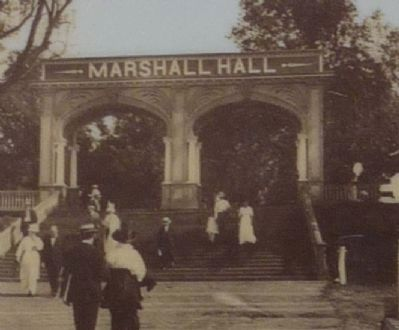 Marshall Hall - Amusement Park Entrance image. Click for full size.