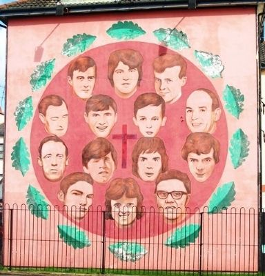The Bloody Sunday Commemoration Mural image. Click for full size.