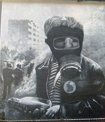 The Petrol Bomber Mural image. Click for full size.