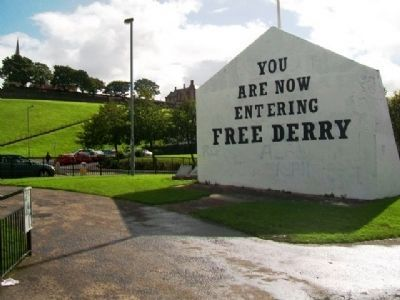 Free Derry Corner and Marker image. Click for full size.