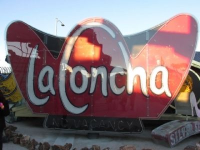 La Concha Neon Sign image. Click for full size.