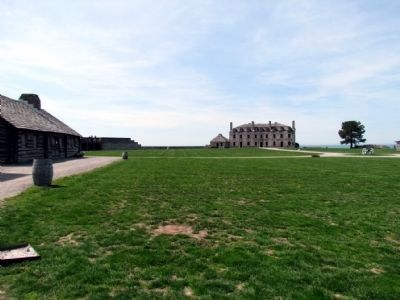 Inside Grounds of Fort Niagara image. Click for full size.