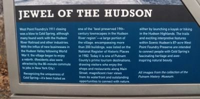 Jewel of the Hudson Marker image. Click for full size.