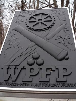 West Point Foundry Preserve Plaque image. Click for full size.