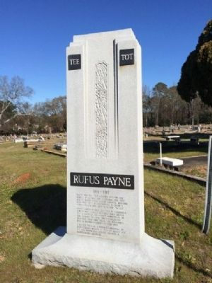 Rufus Payne Monument image. Click for full size.