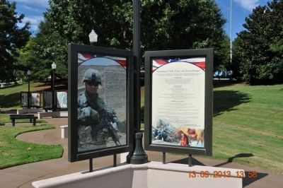 Commitment/Oath, Creed, And Code of Conduct Marker image. Click for full size.