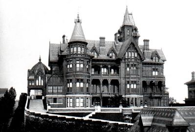 The Mark Hopkins Mansion image. Click for full size.