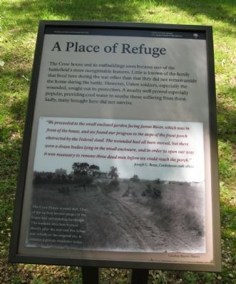 A Place of Refuge Marker image. Click for full size.