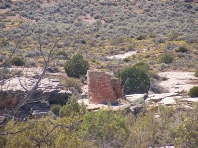 Square Tower Community Ruin image. Click for full size.