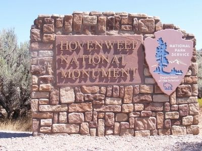 Entrance to the Hovenweep National Monument image. Click for full size.