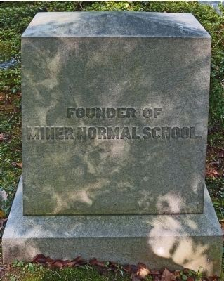 Founder of Miner Normal School image. Click for full size.