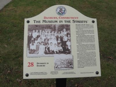 Diversity in Danbury Marker image. Click for full size.