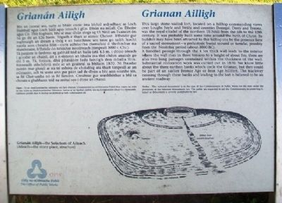 Grianan Ailligh / Grianán Ailigh Marker image. Click for full size.