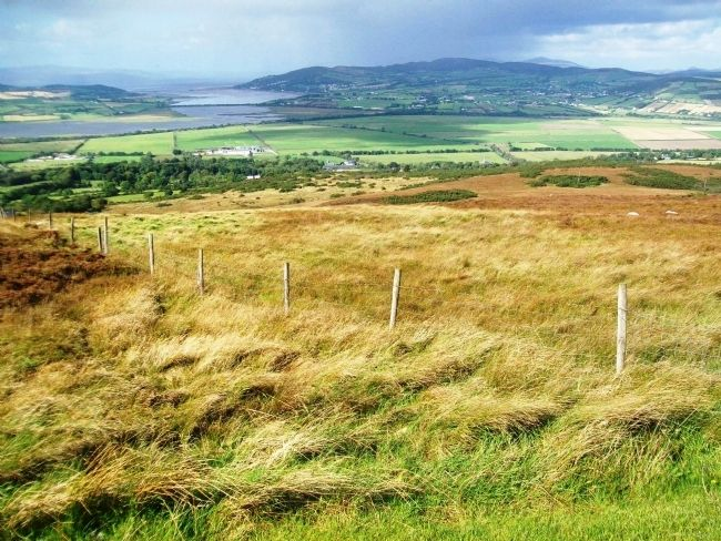 View NW from near Grianan Ailligh / Grianán Ailigh image. Click for full size.