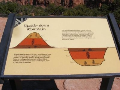 Upside-down Mountain Marker image. Click for full size.