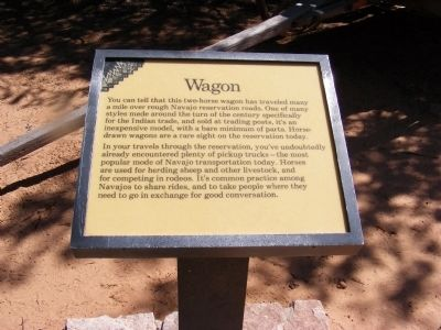 Wagon Marker image. Click for full size.