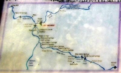 The Malad Springs Marker Map image. Click for full size.
