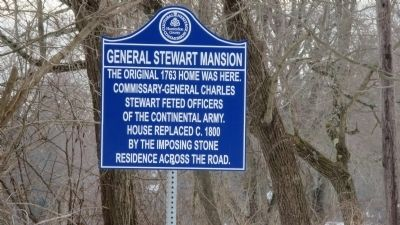 General Stewart Mansion Marker image. Click for full size.