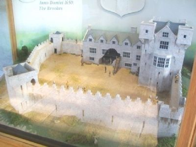 Donegal Castle Diorama c.1650 image. Click for full size.
