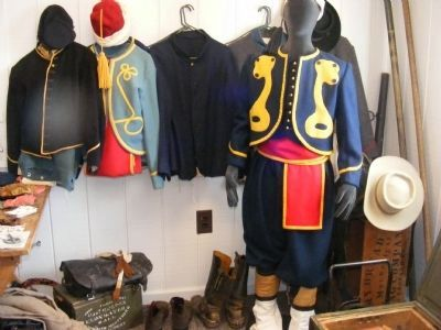 Exhibit in the Visitor Center of The Battle of Five Forks image. Click for full size.